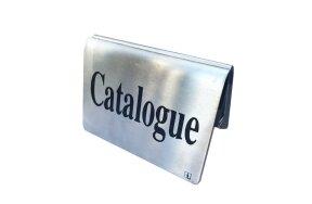 INOX CATALOGUE HOLDER